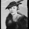 Miss Harper, Southern California, 1936