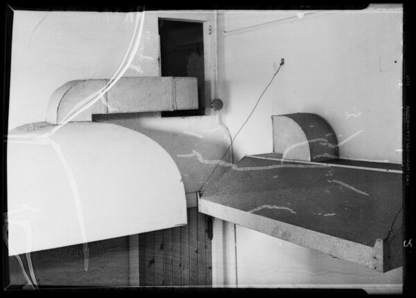 Ventilating system in cafe, West 6th Street and Hope Street, Los Angeles, CA, 1935