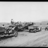 Riviera, construction equipment, Southern California, 1926