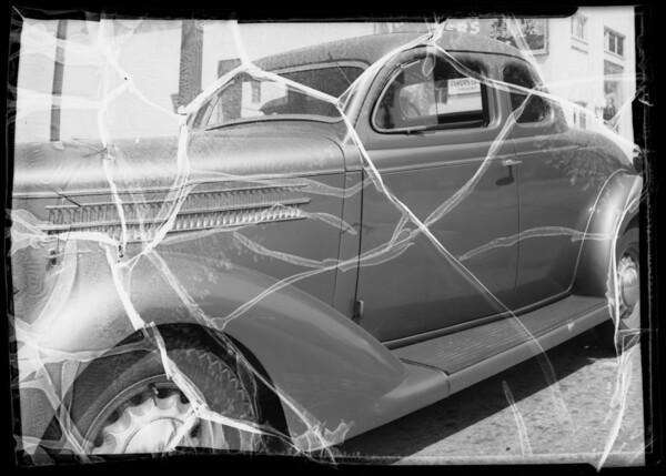Dodge -James M. Fidler, owner, Southern California, 1935