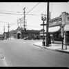 Intersection of South Western Avenue and West Washington Boulevard, Los Angeles, CA, 1935