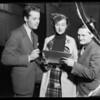 Henry Fonda, Fanny Brice, Jolson, etc., Southern California, 1935