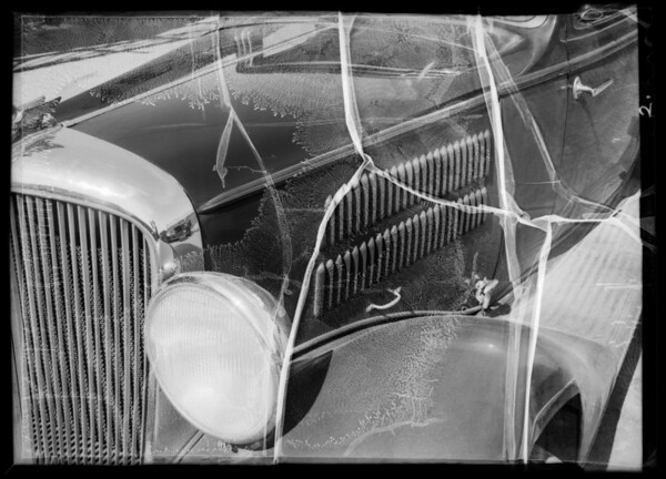 1933 Terraplane coupe, Mr. Bowser assured, Southern California, 1936
