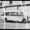 Carl Curtis School bus, Southern California, 1935
