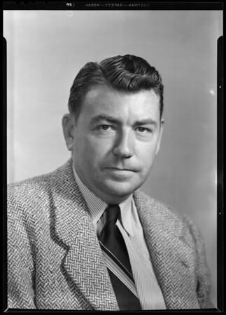 Portrait of Mr. Hoefler, Southern California, 1940