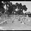 Swimming pool at Exposition Park, Los Angeles, CA, 1927