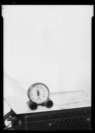Zenith car radio and dial, Southern California, 1935