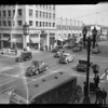 Traffic at East Colorado Boulevard and South Marengo Avenue, Pasadena, CA, 1936