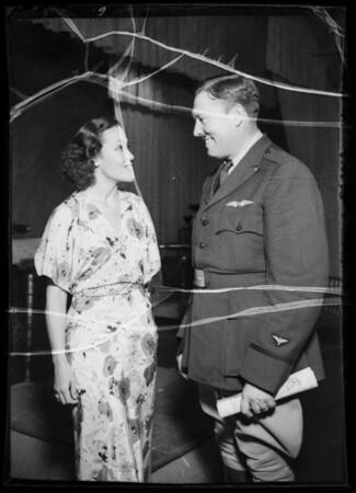 Dolores del Río, Turner, Jolson, etc., Southern California, 1935