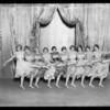 Chorus girls, Music Box Theatre, Southern California, 1927