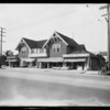 Food Market, West 48th Street and South Wilton Place, Los Angeles, CA, 1927
