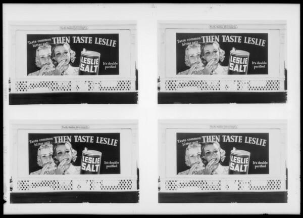 Leslie Salt, Southern California, 1935
