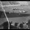 Football scenes, UCLA vs Oregon University, Southern California, 1935