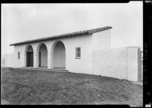 Office on tract, Los Angeles, CA, 1927