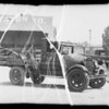 1929 Ford truck, Field Transportation Co. owner & assured, Southern California, 1935
