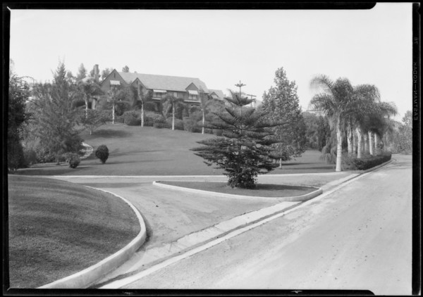 Los Feliz Woods, Southern California, 1927