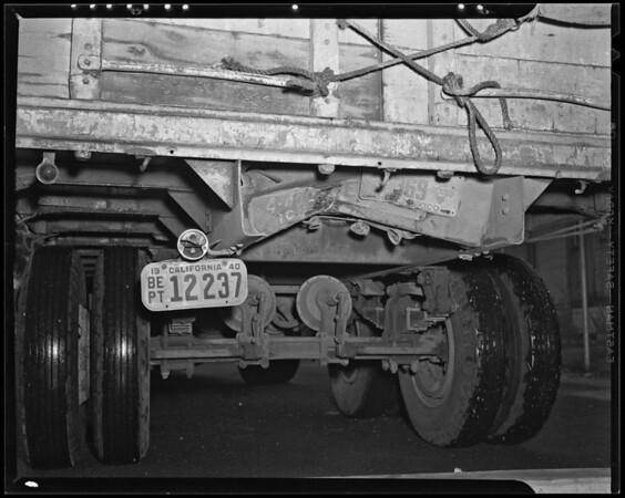 Truck #30, Albuquerque Express, 1450 Hooper Avenue, Los Angeles, CA, 1940