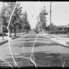 Intersection of Verona Street and South Duncan Avenue, Los Angeles, CA, 1935
