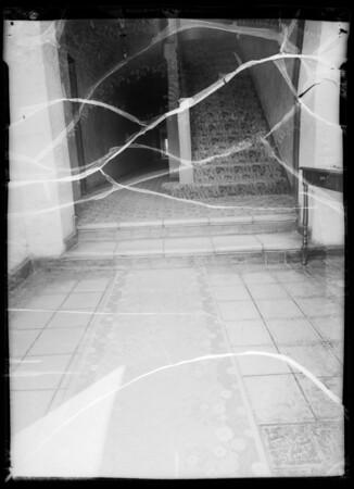 Lobby of Ionia Apartments, 1225 Ionia Street, Southern California, 1935