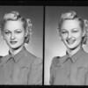 Barbara Hughes, Southern California, 1940
