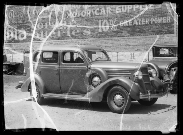 1935 Dodge owned by Mr. Bendat, Southern California, 1935