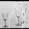 Glassware, Broadway Department Store, Southern California, 1935