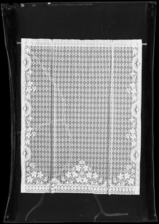 Curtains, Southern California, 1940