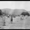 Archery at Glen Oaks, Southern California, 1927