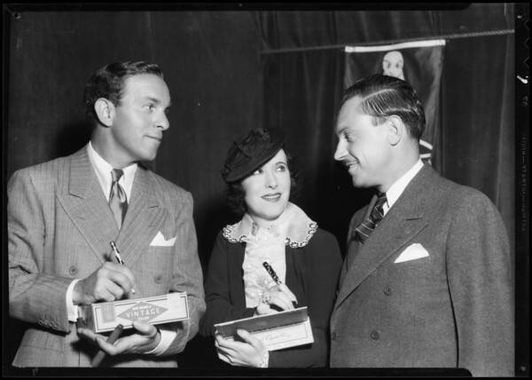 Burns & Allen and Mr. Pritchard, Southern California, 1935