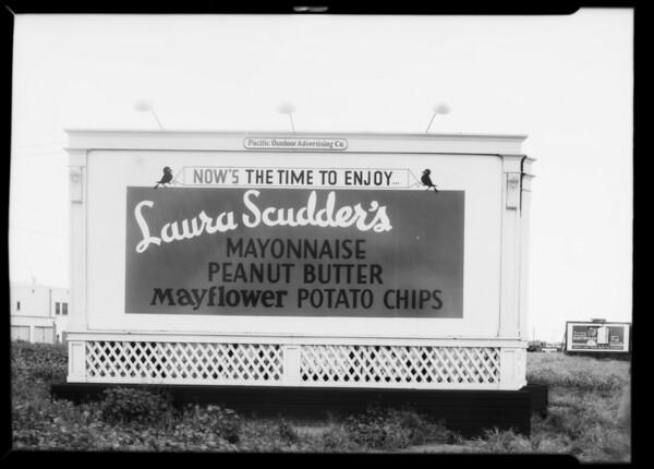 Laura Scudder board, Southern California, 1935