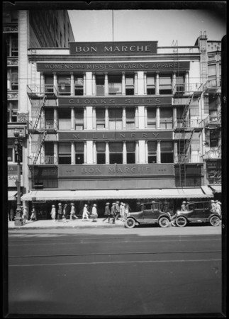 Bon Marché building, Southern California, 1926