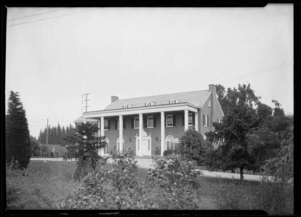 Mr. Baines' home, La Lomita Rancho, 4501 Orcutt Road, San Luis Obispo, CA, 1926