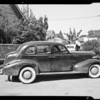 Pontiac sedan, Cotter owner, Southern California, 1940