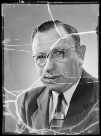 Portrait of Mr. Balkin, Southern California, 1935