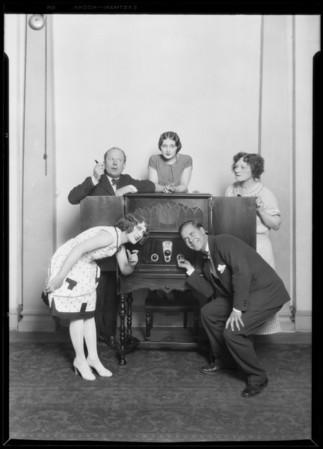 """White Collar"" cast, Southern California, 1926"