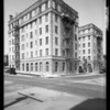 Park Lane Apartments, Southern California, 1927