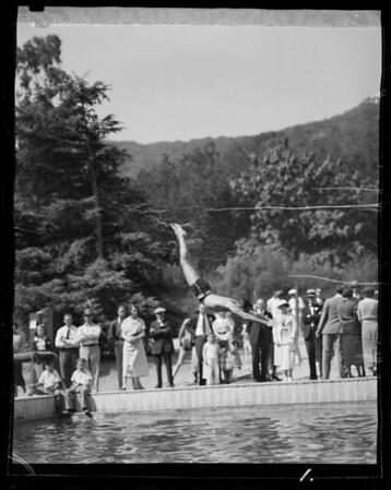 Signal Oil Company picnic, Southern California, 1935