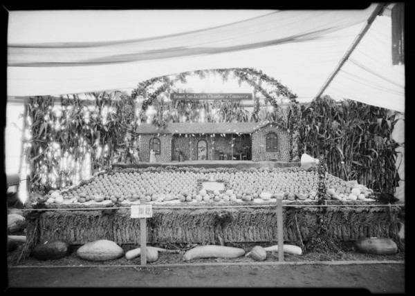 San Jacinto booth at Riverside Fair, Riverside, CA, 1926