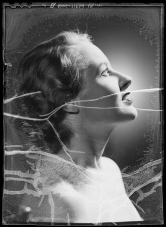Head for Vogue, Mrs. Catherine Millan, model, Southern California, 1935