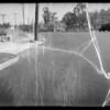 Skid marks on Pasadena Avenue, Mrs. Annie Bailey pedestrian deceased, Mrs. Kelen M. Wilson assured, Los Angeles, CA, 1935