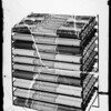 Cellophane display rack, Southern California, 1936