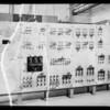 Old switchboard at Manual Arts, Southern California, 1935