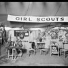 Girl Scouts booth at Riverside Country Fair, Southern California, 1926