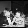 Parties in Cocoanut Grove & Fiesta Room, Ambassador Hotel, Los Angeles, CA, 1935