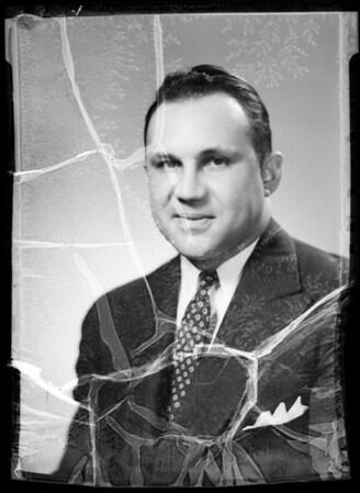 Portraits of A.R. Boyer, #1, and C.B. MacGlashan, #2, Southern California, 1935