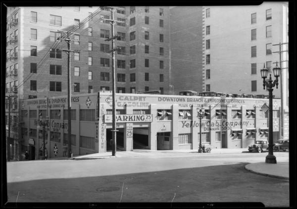 Buildings, Subway terminal parking garage, Los Angeles, CA, 1926
