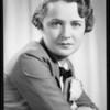 Miss Joan Nelson, Southern California, 1935