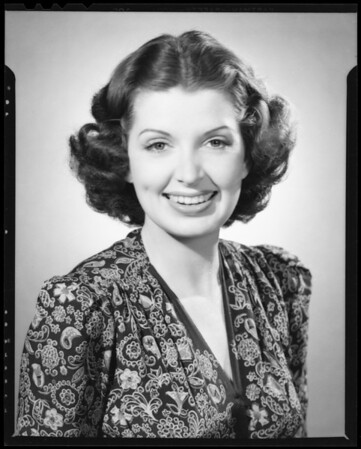 Jane Brerce, Southern California, 1940