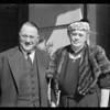 Senator Sordoni and wife, Southern California, 1940