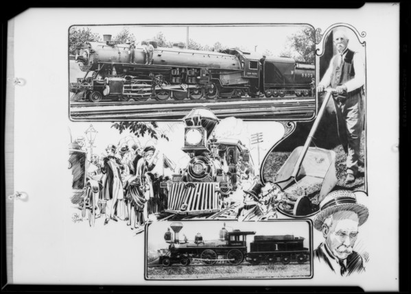 Union Pacific locomotives, Southern California, 1926